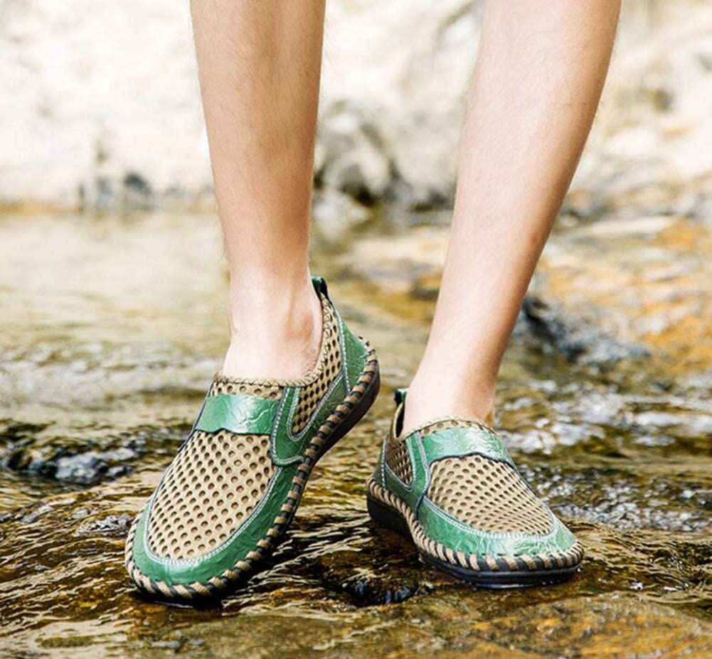Comfort Breathable Loafers /& Slip-Ons Lazy Shoes Soft Sole Driving Shoes Boating Shoes,Green,39 Hy Mens Casual Shoes