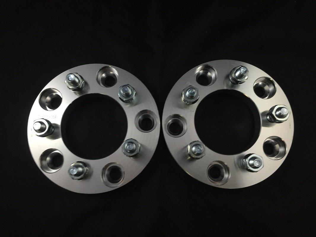 4pc 25mm Wheel Adapters | 5x130 to 5x112 (Hub to Wheel) | 12x1.5 Thread | 1 Inch