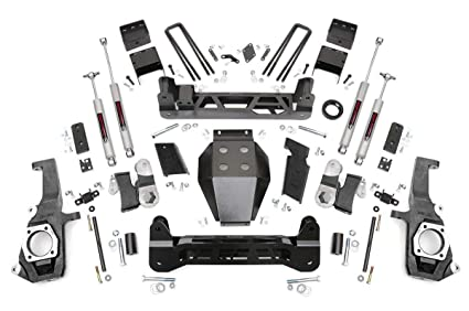 Amazon Com Rough Country 7 5 Lift Kit Fits 2011 2019 Chevy