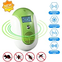 LinTimes Ultrasonic Eletronic Pest Repellent Control Plug In Insect Repellent