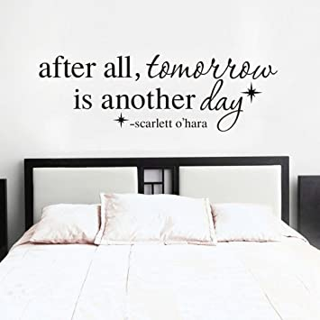 Mairgwall After All Tomorrow Is Another Day Wall Decal Scarlett O
