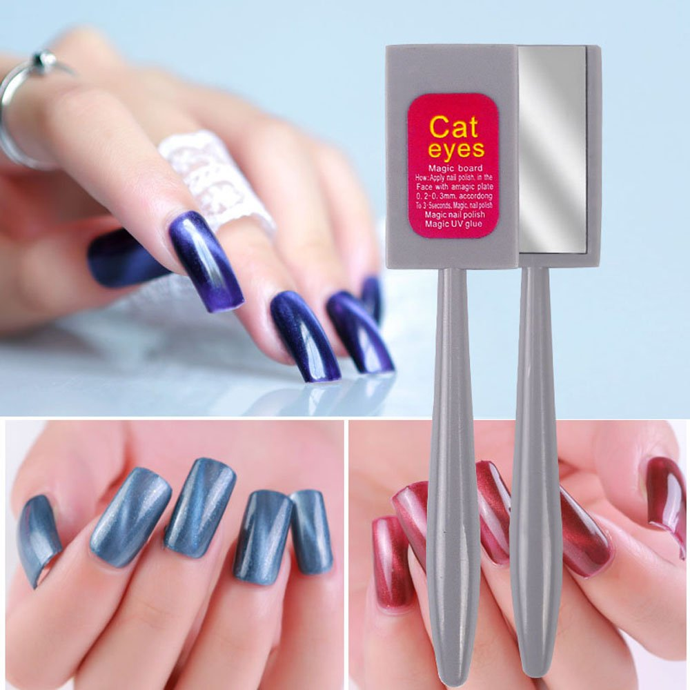 Amazon.com: Vrenmol 12pcs Different Designs Cat Eyes Magnet Sticks ...