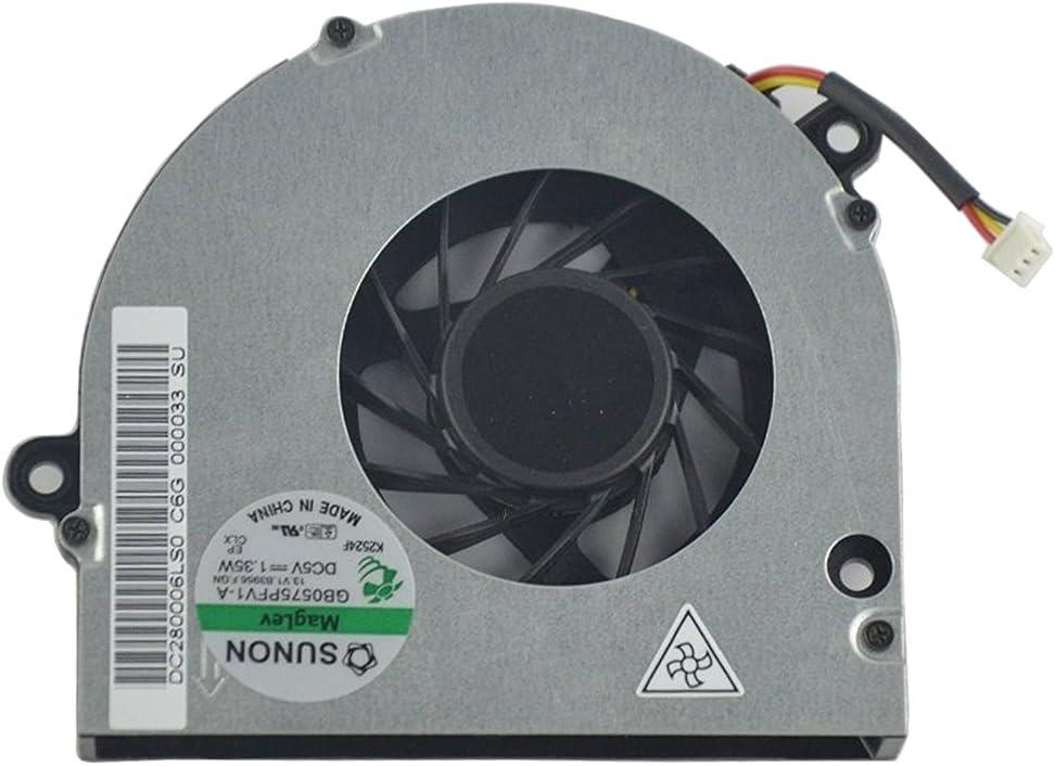 Nuevo reemplazo MyArmor CPU del ordenador portátil ventilador para Acer Aspire 5241 5332 5516 5517 5532 5541 G 5732 57325732 5732Z eMachines E525 E625 E627 E725 GB0575PFV1-A