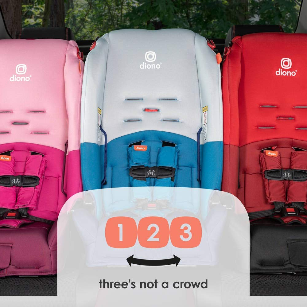Diono Radian 3 R All-In-One Convertible Car Seat for Children and Baby to 100 Pounds Pink