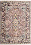 Safavieh Illusion Collection ILL700A Purple Area Rug (5' x 8')