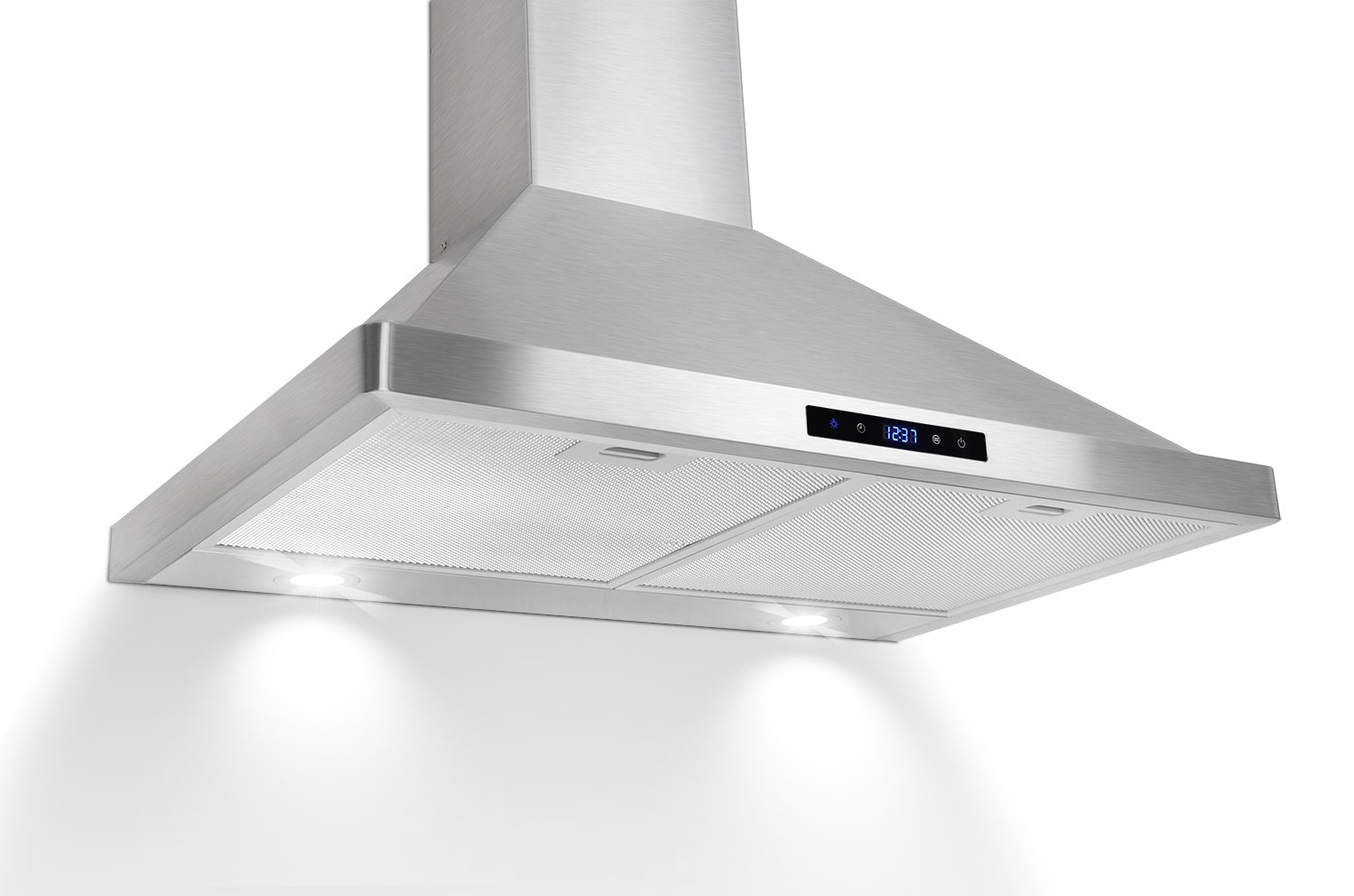AKDY 30 Kitchen Wall Mount Stainless Steel Touch Panel Control Range Hood AZ63175S Stove Vents