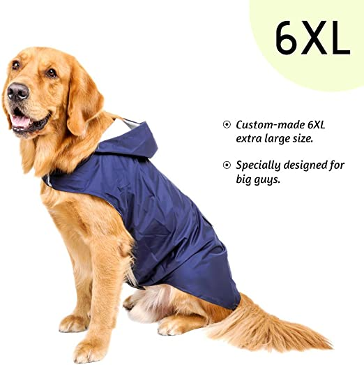 2XL M 5XL S Yoli Regenjacke f/ür Hunde L 4XL 3XL XL