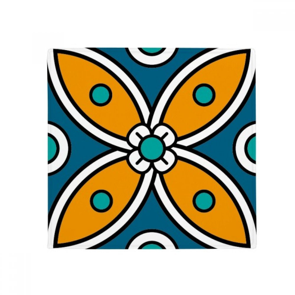DIYthinker Abstract Flower Mgoldcco Style Pattern Anti-Slip Floor Pet Mat Square Home Kitchen Door 80Cm Gift