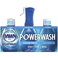 Dawn Platinum Powerwash Dish Spray Soap, Fresh Scent Refill- 473ml