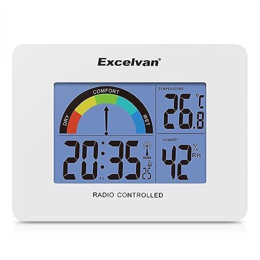 9 opinioni per Excelvan Calendario Sveglia Digitale Orologio da Tavolo Digitale con Display LCD