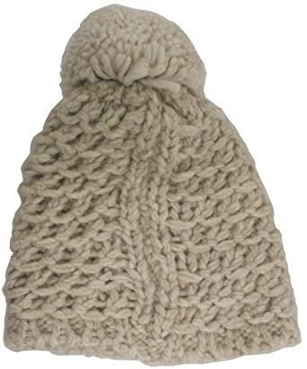 UGG Womens Yarn Pom Hat in Beige at Amazon Women s Clothing store  e211858bfc4