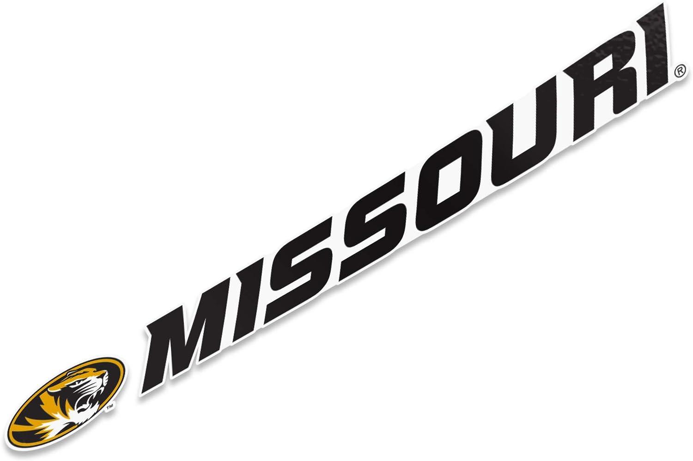 University of Missouri Mizzou Name Logo Vinyl Decal Laptop Water Bottle Car Scrapbook 15 Inch Sticker