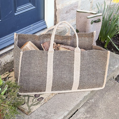 Jardin Jute Log Bag by Dibor