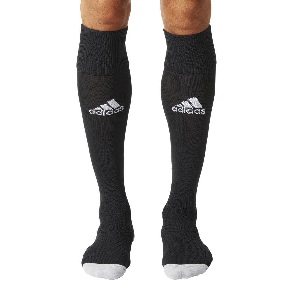 Adidas Unisex adults Milano 16 Socks, Black/White, 10.5-12 UK (46-48 EU)
