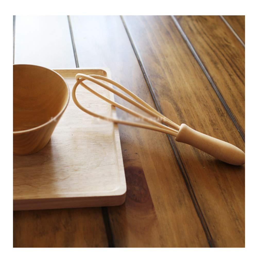 amazon WYQSZ Batteur à œufs - Batteur à œufs en bois rustique sans peinture Batteur à œufs japonais Ustensiles de cuisine simples -6410 Batteur à œufs pas cher prix