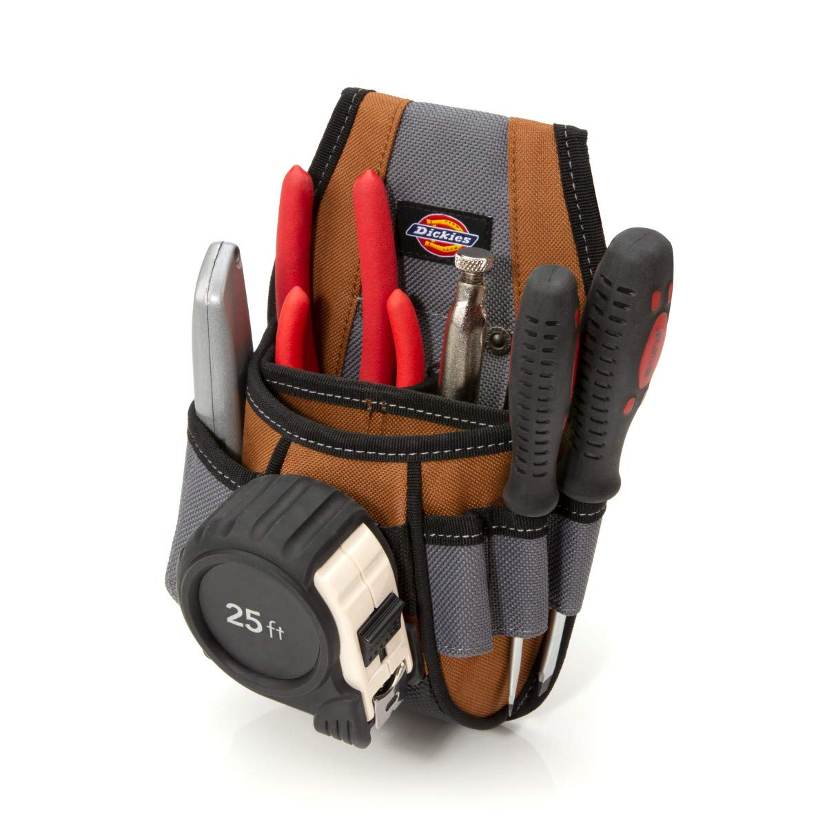 Dickies Work Gear 57099 4-Pocket Rigid Tool Pouch with Tape Clip by Dickies Work Gear (Image #2)