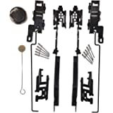 Sunroof Repair Kit Sunroof Track Assembly for Ford F150 F250 F350 F450 Expedition Lincoln Navigator Mark LT Replaces…