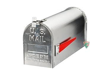 Amerikanischer Briefkasten us mailbox mit ständer briefkasten aus aluminium amerikanischer