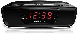 Philips AJ3123 FM Digital Tuning Alarm Clock Radio