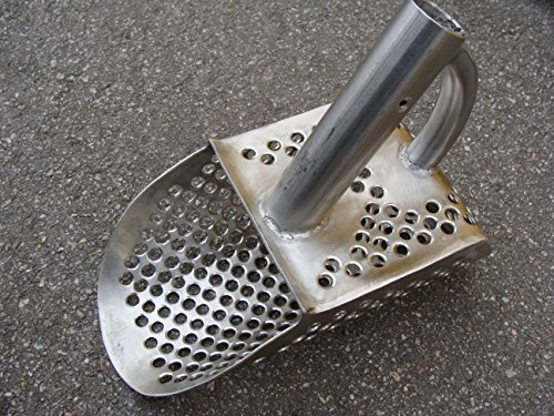 Beach Sand Scoop Garrett Metal Detecting Genuine Stainless Steel #2mm hole 9mm (Cheapest Metal Detector)