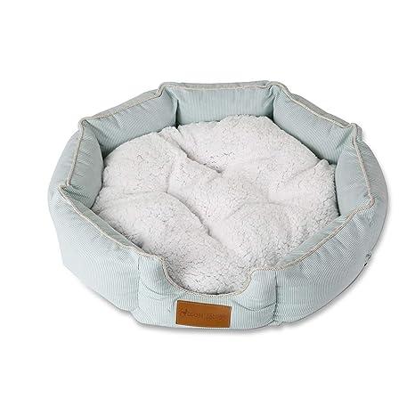 PETCUTE Cama para Perros Lujo Cama para Mascota de Suave Lana Lavable Cojín colchón para Perros