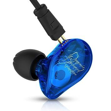 KZ ED16 Auriculares triples Auriculares Auriculares intrauditivos Yinyoo Hi-Fi Auriculares de graves profundos con controlador híbrido con conector de 3,5 ...