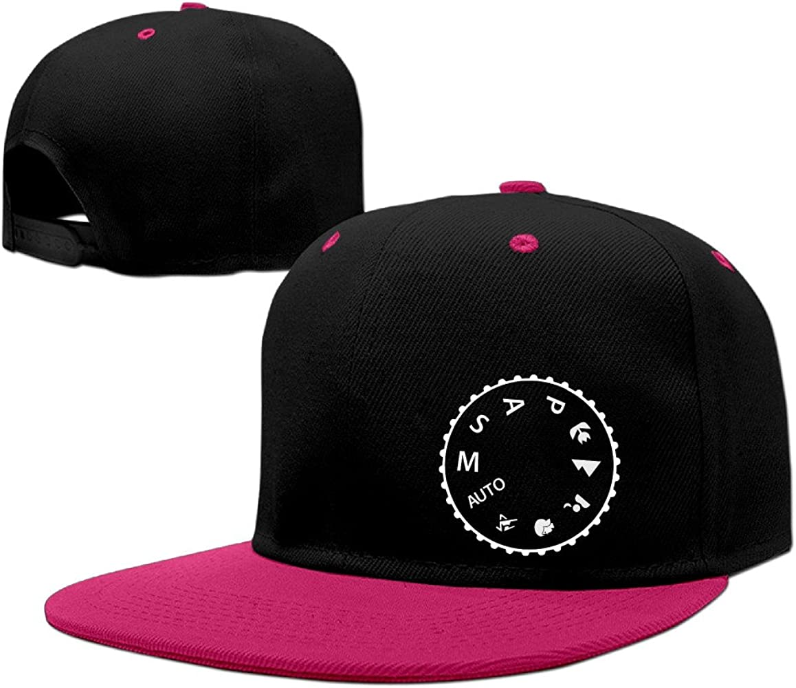 Los amantes de la cámara Manual de disparar Buff fotografía Flat Bill gorra – Soporte de Hip Hop sombrero: Amazon.es: Ropa y accesorios