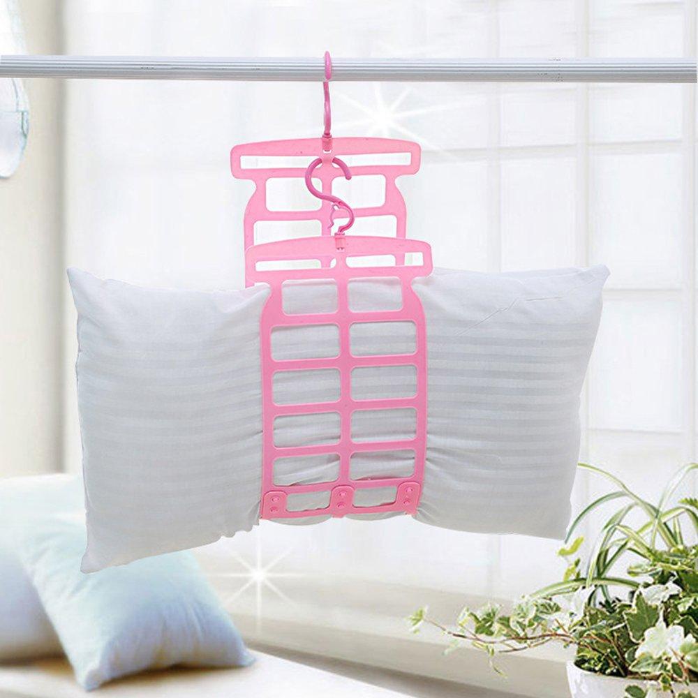 MYLL Almohada ajustable almohadilla de secado marco de secado Lavander/ía Toy Doll colgador multifuncional