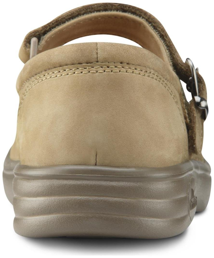 Dr. Comfort Merry Jane Women's Therapeutic Extra Depth Shoe: Beige 7 X-Wide (E-2E) Velcro by Dr. Comfort (Image #5)