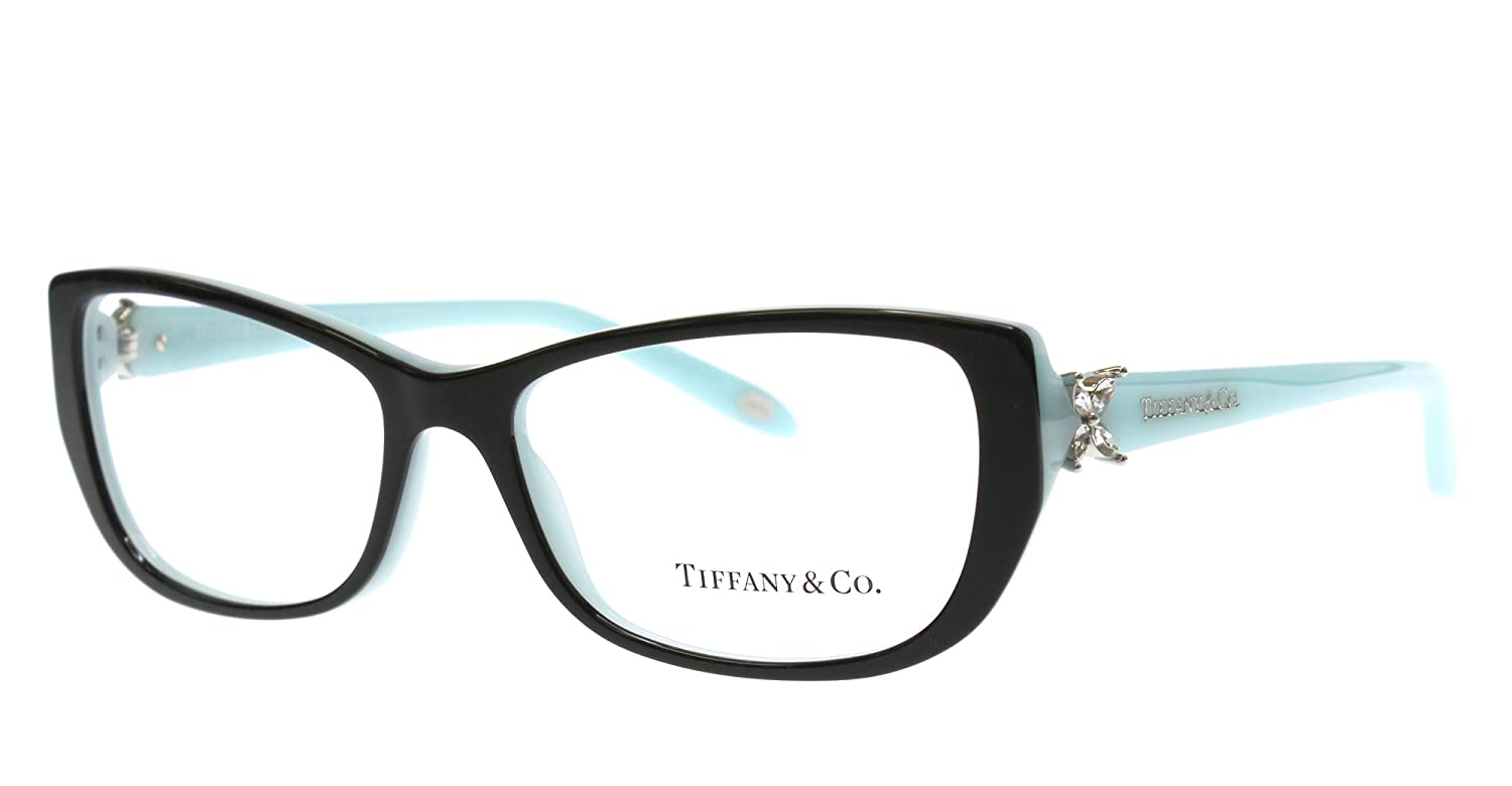 Amazon.com: Eyeglasses Tiffany TF 2044B 8055 TOP BLACK/BLUE: Shoes