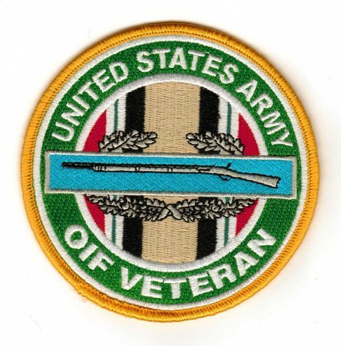 (Combat Infantry Badge Operation Iraqi Freedom Veteran Patch)