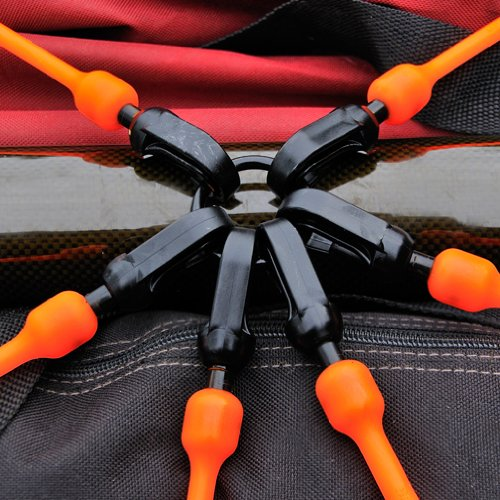 Safety Green 18-36 18-36 FW18-6G 6-Arm Flex-Web Bungee Cords The Perfect Bungee by BihlerFlex