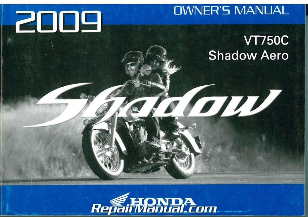 2004 honda shadow aero owners manual