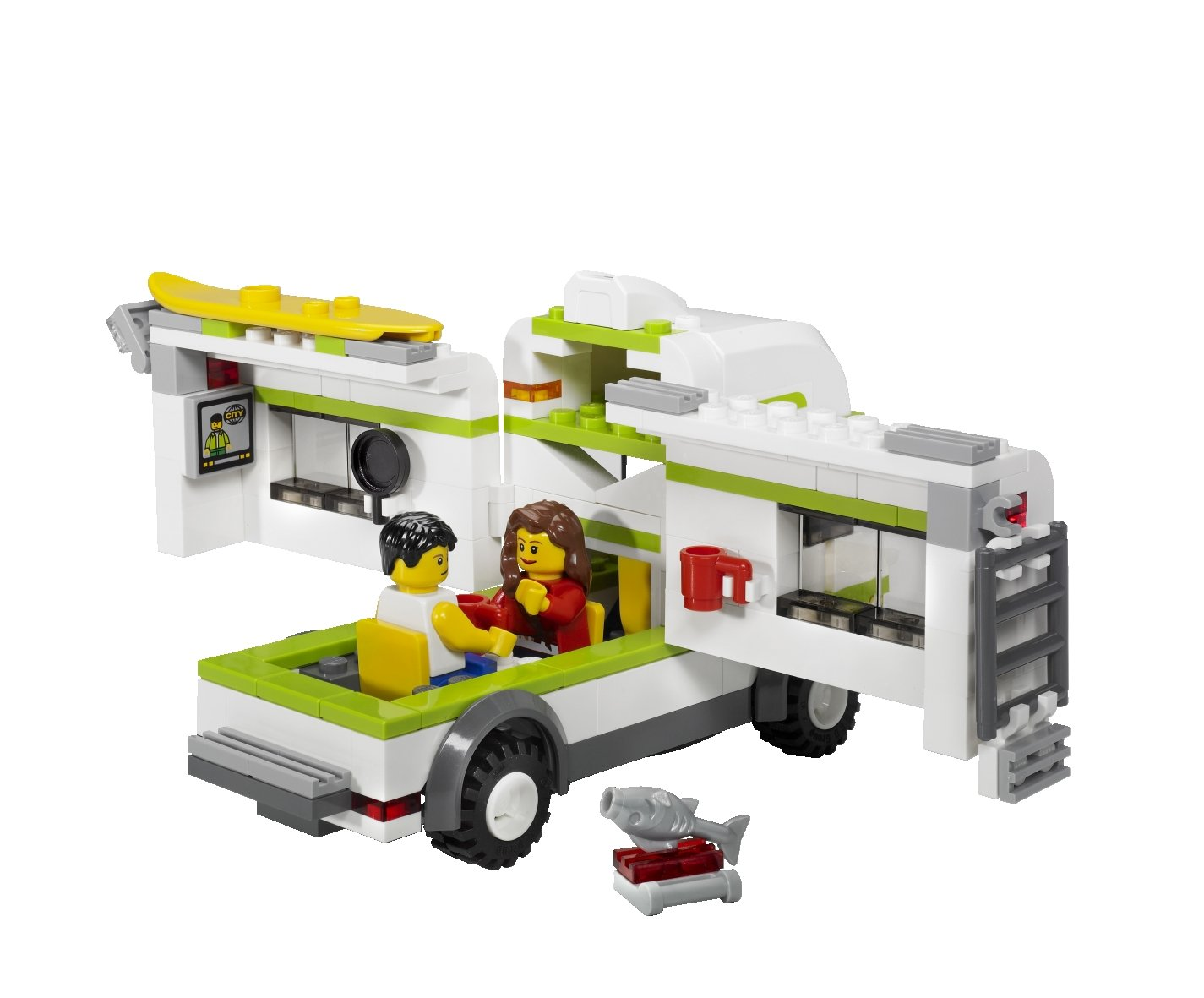Lego City 7639 Camper Amazon Toys Games