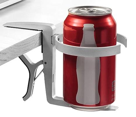 Portavasos Vector / Soporte para Bebidas Vector - Se puede enganchar, Posee una pinza de
