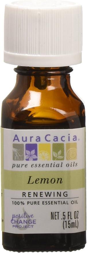 Aura Cacia Aceite Esencial De Limón Health Personal Care