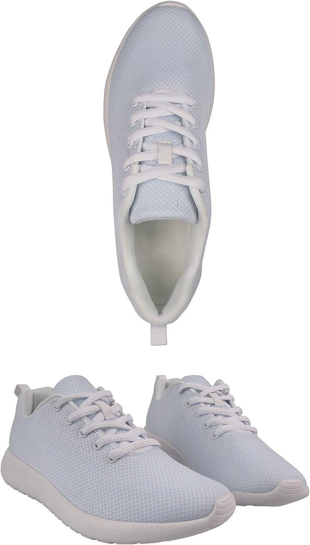 Nopersonality Womens Walking Shoes Cool Dog Print Running Sneakers Lightweight Shock Absorbing Sport Cross Trainer Corgi Flower gFftyb
