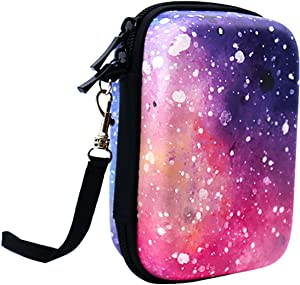 Big Trend Shockproof Carrying Case Storage Travel Bag for HP Sprocket Portable Photo Printer and (2nd Edition) / Polaroid Zip Mobile Printer/Lifeprint 2x3 Portable Protective Pouch Box (Starry Sky)