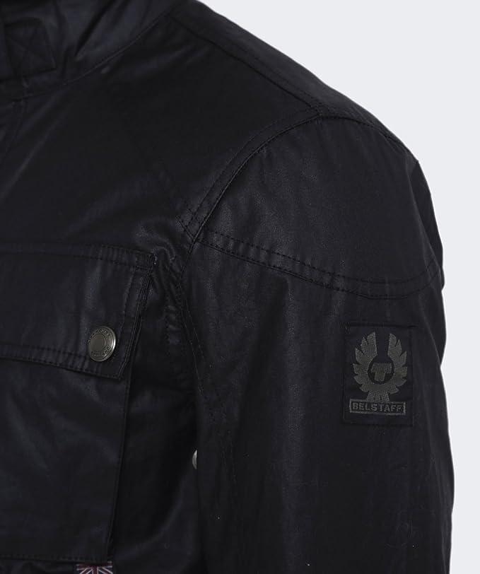 16bab742b0 Belstaff Racemaster Wax Jacket (Brown, 46) at Amazon Men's Clothing store: