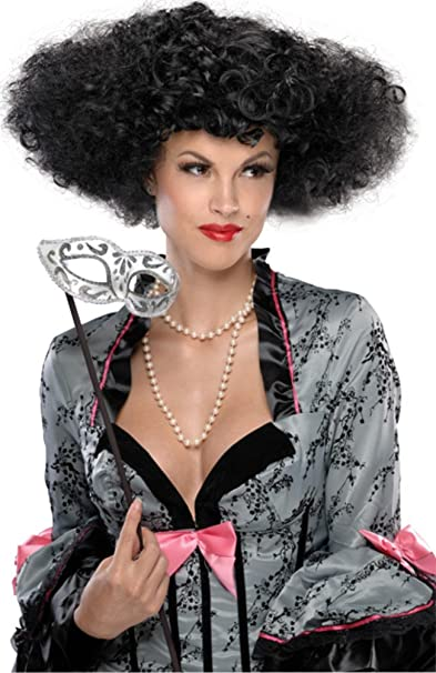Danza de la peluca de estilo victoriano para mujer adultos traje de accesorios de Halloween del