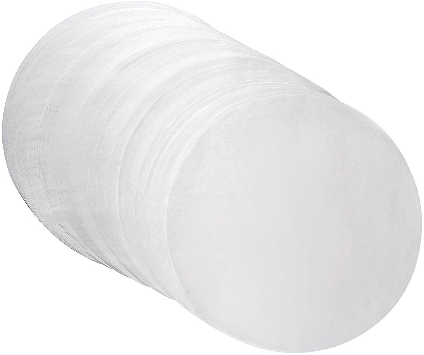 Parchment Paper Baking Circles 8 Inch Diameter, Baking Paper Liners for Baking Cakes, Cooking, Dutch Oven, Air Fryer, Cheesecakes, Tortilla Press (100 PCS)