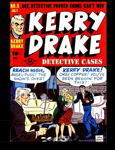 Read Online Kerry Drake Detective Cases #9: 1948 Detective-Mystery Comic PDF