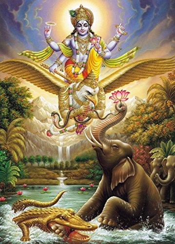 wallmonkeys-indian-god-vishnu-with-garud-dav-the-vahan-of-vish-peel-and-stick-wall-decals-wm67253-18