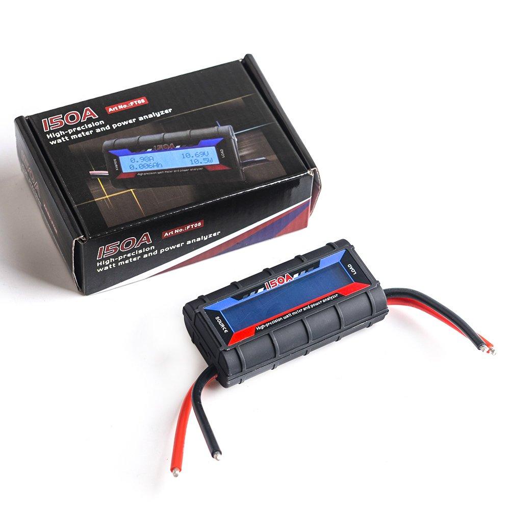 Amazon.com: Watt Meter Power Analyzer - JZCreater 150A Power ...