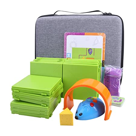 365989fc7bd6 Storage Organizer Carrying Hard Case for Code and Go Robot Mouse Activity  Set by Aenllosi (Gray)