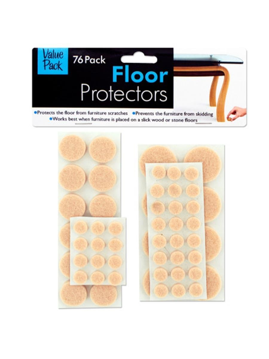 Amazoncom 76 Pack Floor Protector Pads Sports Outdoors