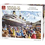 King KNG05134 Classic Titanic Puzzle (1000-Piece)