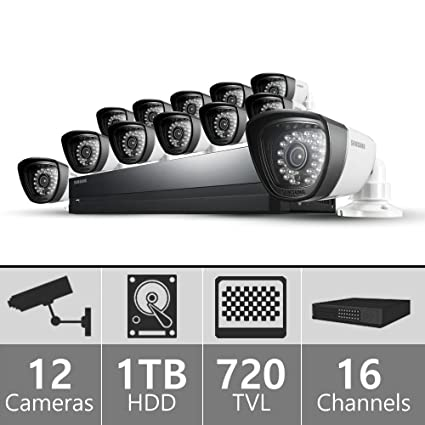 Amazoncom Samsung Sds P5122 16 Channel All In One Dvr Security