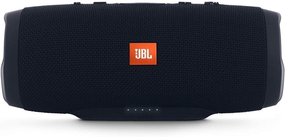 JBL Charge 3 Stealth Edition - Altavoz inalámbrico portátil con Bluetooth, Negro