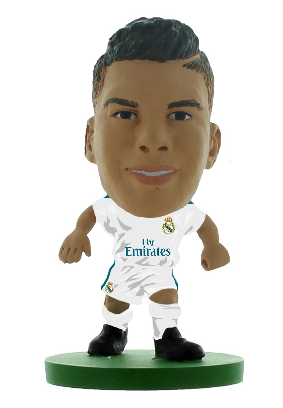 7445149b9 SoccerStarz SOC1155 Real Madrid Carlos Casemiro 2018 Version Home Kit  Figures  Amazon.co.uk  Toys   Games